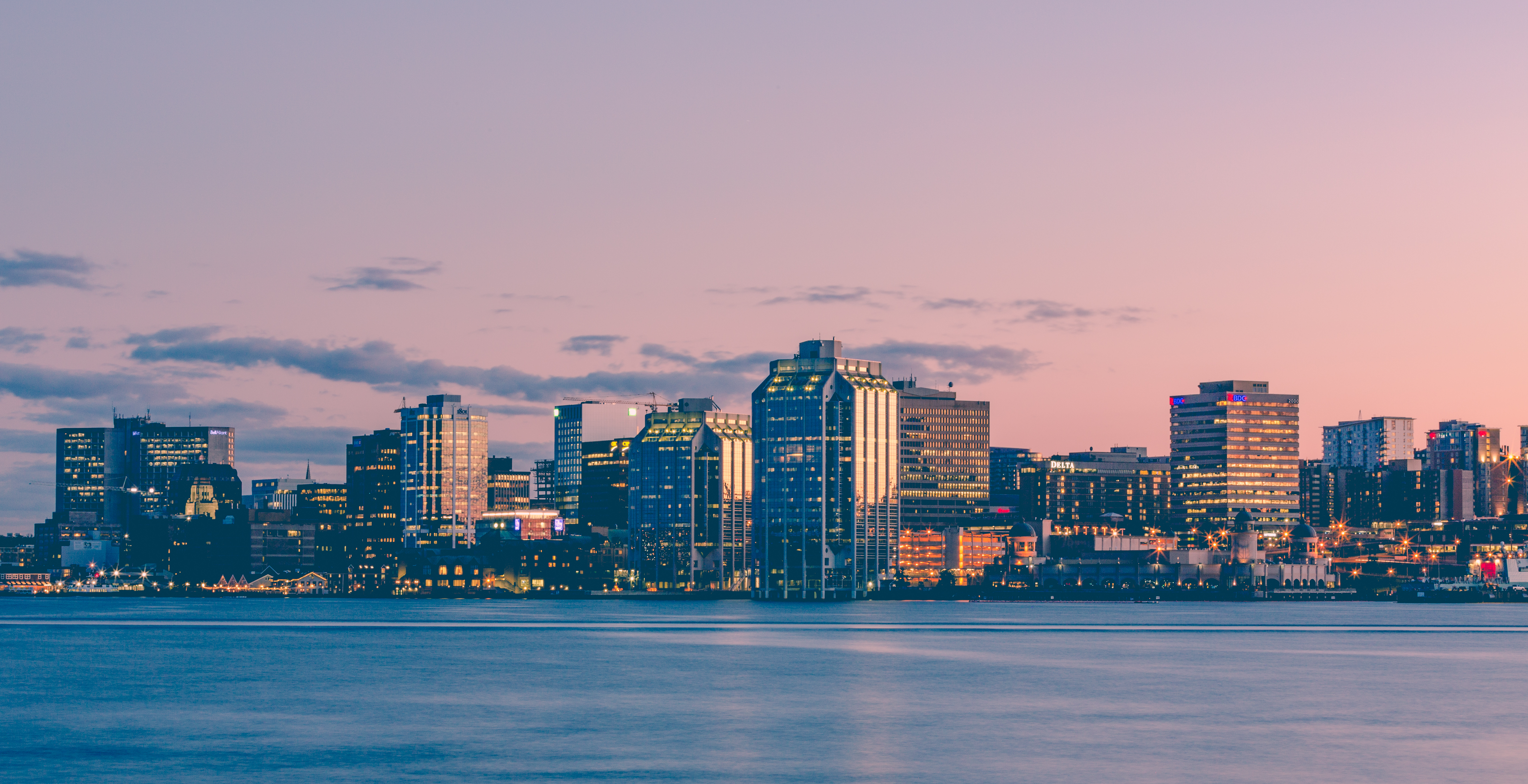 Halifax Harbour Sunset Skyline