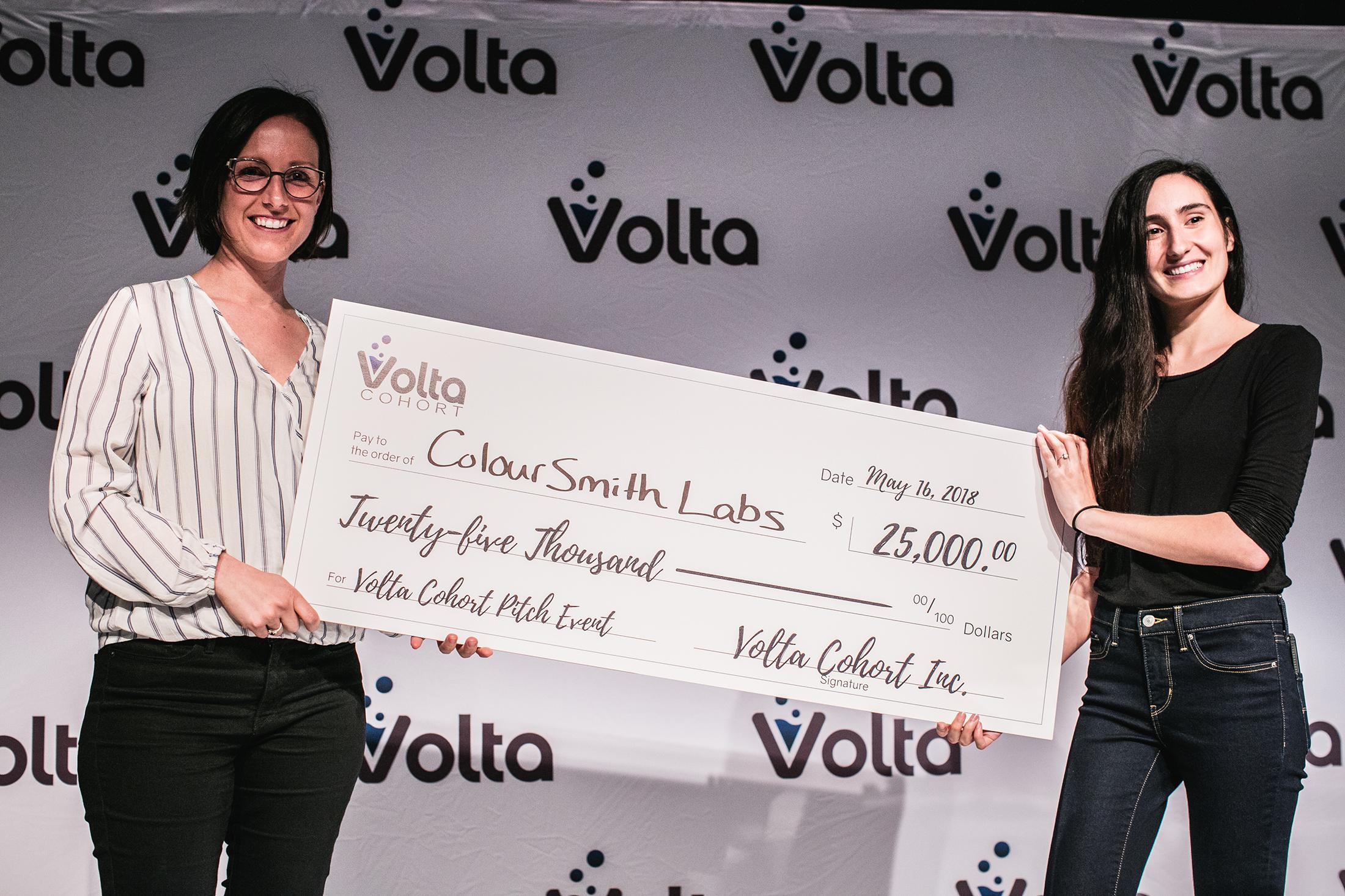 Volta Cohort Winner Coloursmith Labs