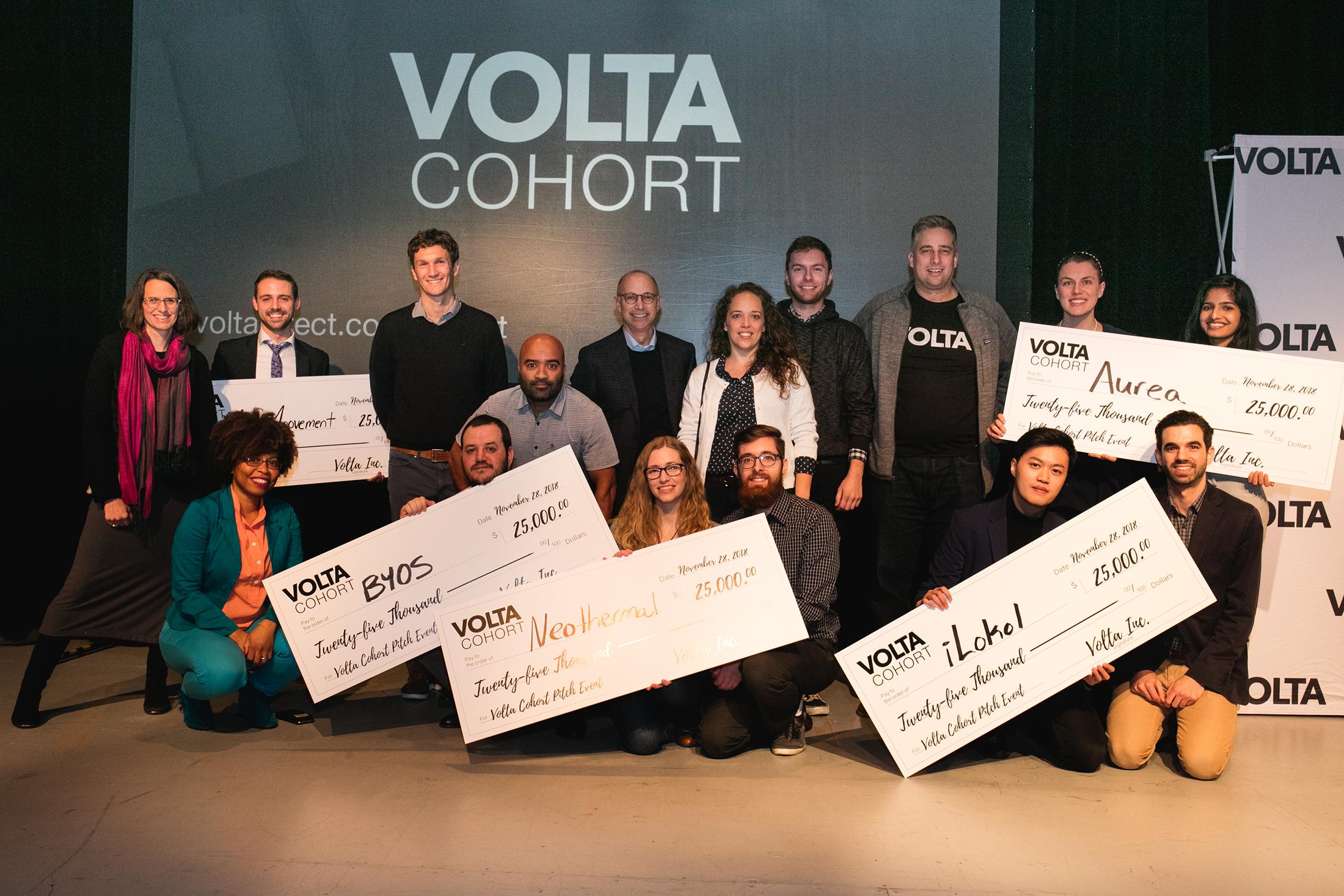 Volta Cohort Winners