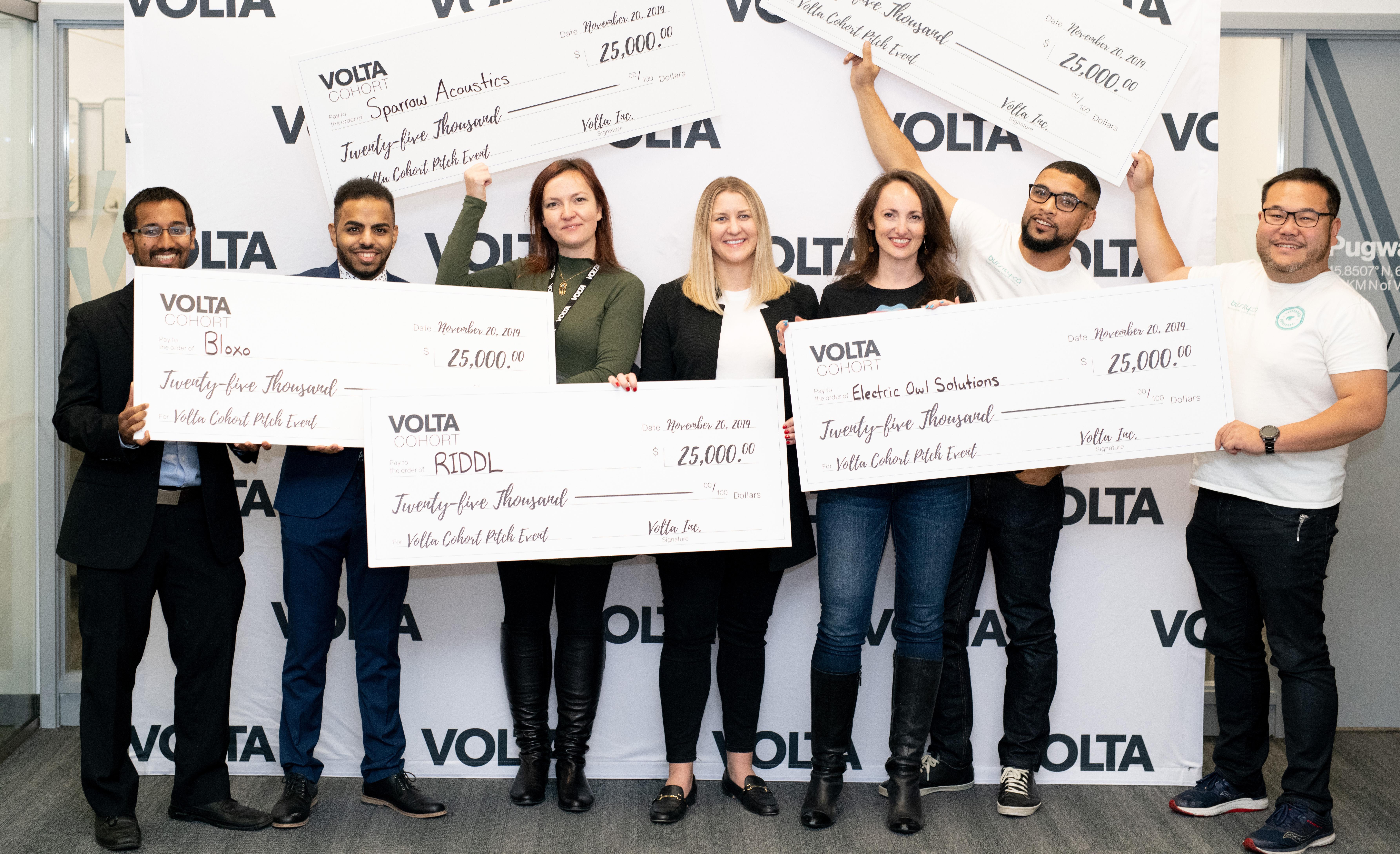 Volta Cohort winners 2019 November v2